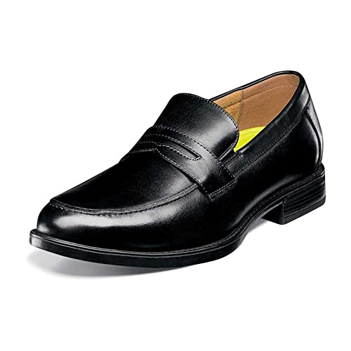 a7a091bb9e0 Florsheim Men s Midtown Penny Slip-On Black Smooth 7 ...