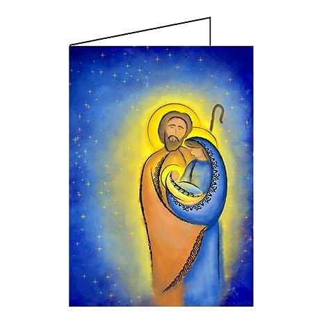 Biglietti Di Natale Religiosi.Set Cristiano Biglietti Di Natale Biglietti In A6 Religiosi