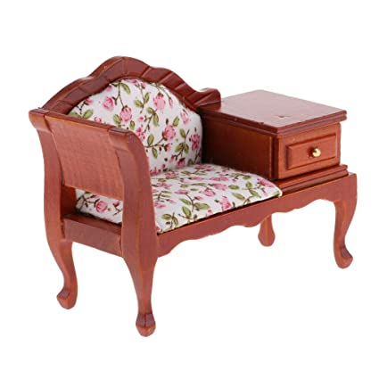 Incredible Amazon Com Natfur 1 12 Dollhouse Miniature Furniture Creativecarmelina Interior Chair Design Creativecarmelinacom