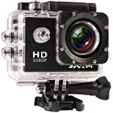「SJCAM正規品」1080P防水 スポーツカメラ マリンスポーツやウインタースポーツに最適! バイクや自転車、カートや車に取り付け可能なスポーツカメラ HD動画対応 コンパクトカメラ SJ4000 (ホワイト)