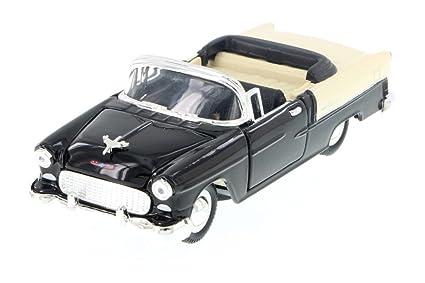 Amazon Sunnyside 1955 Chevy Bel Air Convertible Black 5720d