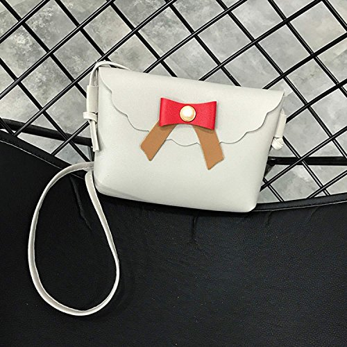 Handbag Bag Hobos Shoulder Fashion Satchel Shoulder Leather Artificial Bags Tote Purse Women Gray Goldenfox BXqw8C