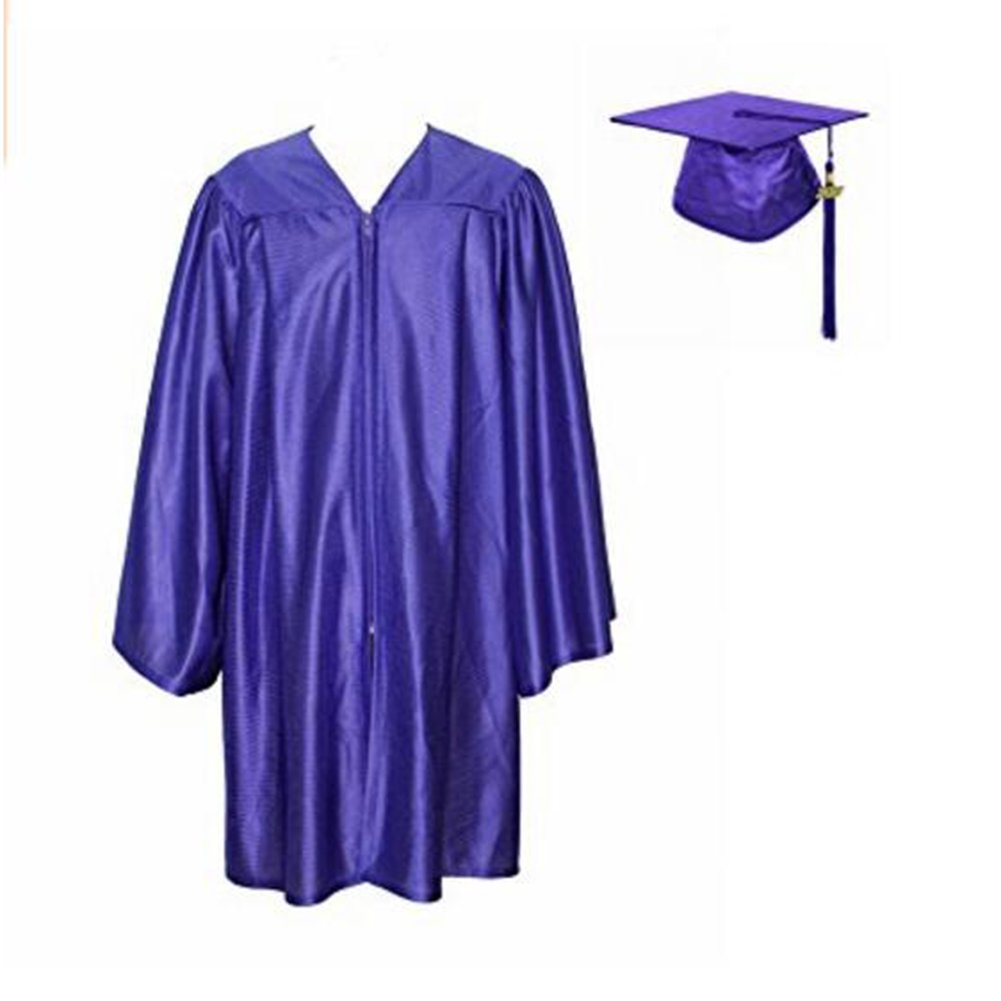 TopTie Unisex Kindergarten Kids Graduation Set Gown Cap Tassel 2017 GOWX-DK61008
