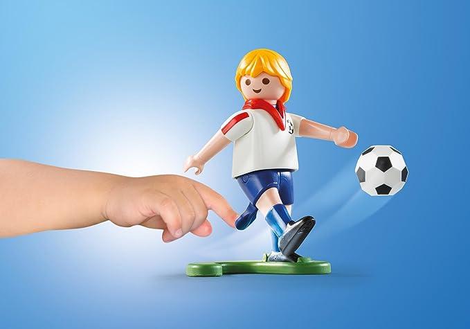 Playmobil Fútbol- Maleta Playmobil Playset, 5,5 x 21 x 16,3 cm ...
