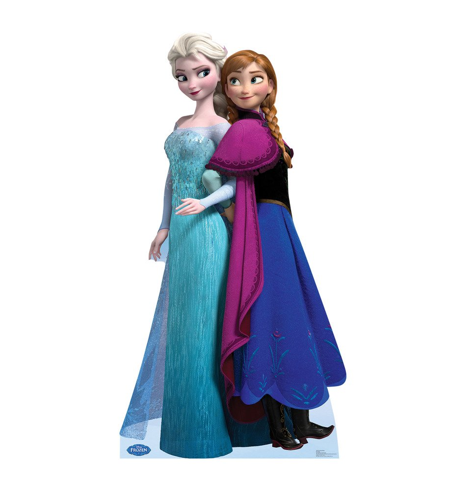 Advanced Graphics Elsa and Anna - Disney's Frozen Life Size Cardboard Standup
