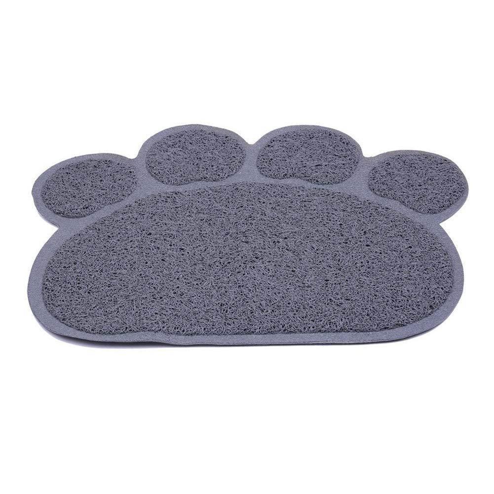 Mekta Tapis multifonction en forme de patte de chien et chat pour animaux domestiques