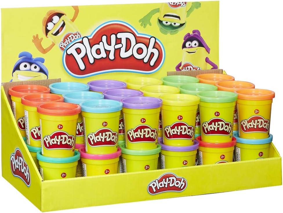 Play-Doh- Bote de plastilina, Multicolor, única (Hasbro B6756EU4 ...
