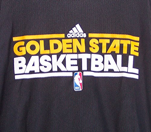 Amazon.com   Adidas Golden State Warriors Basketball Reversible Practice  Jersey Adult Men s 2XL+2 (+2   Extra Length) XXL Black   White   Sports    Outdoors f353d9499