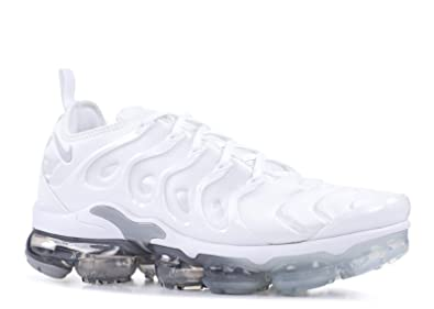 df23e54f98 Nike Men's Air Vapormax Plus Competition Running Shoes, Multicolour (White/Pure  Platinum/