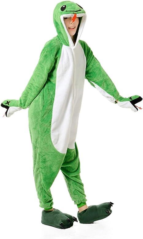 Pijama de Serpiente para Adultos, Disfraz de Halloween de una ...