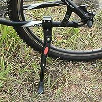 Dewel Pata de Bicicleta para Bicicleta Infantil de 16 Aluminio Bicicleta Soporte Lateral Retroceso de Caballete Lateral Antideslizante