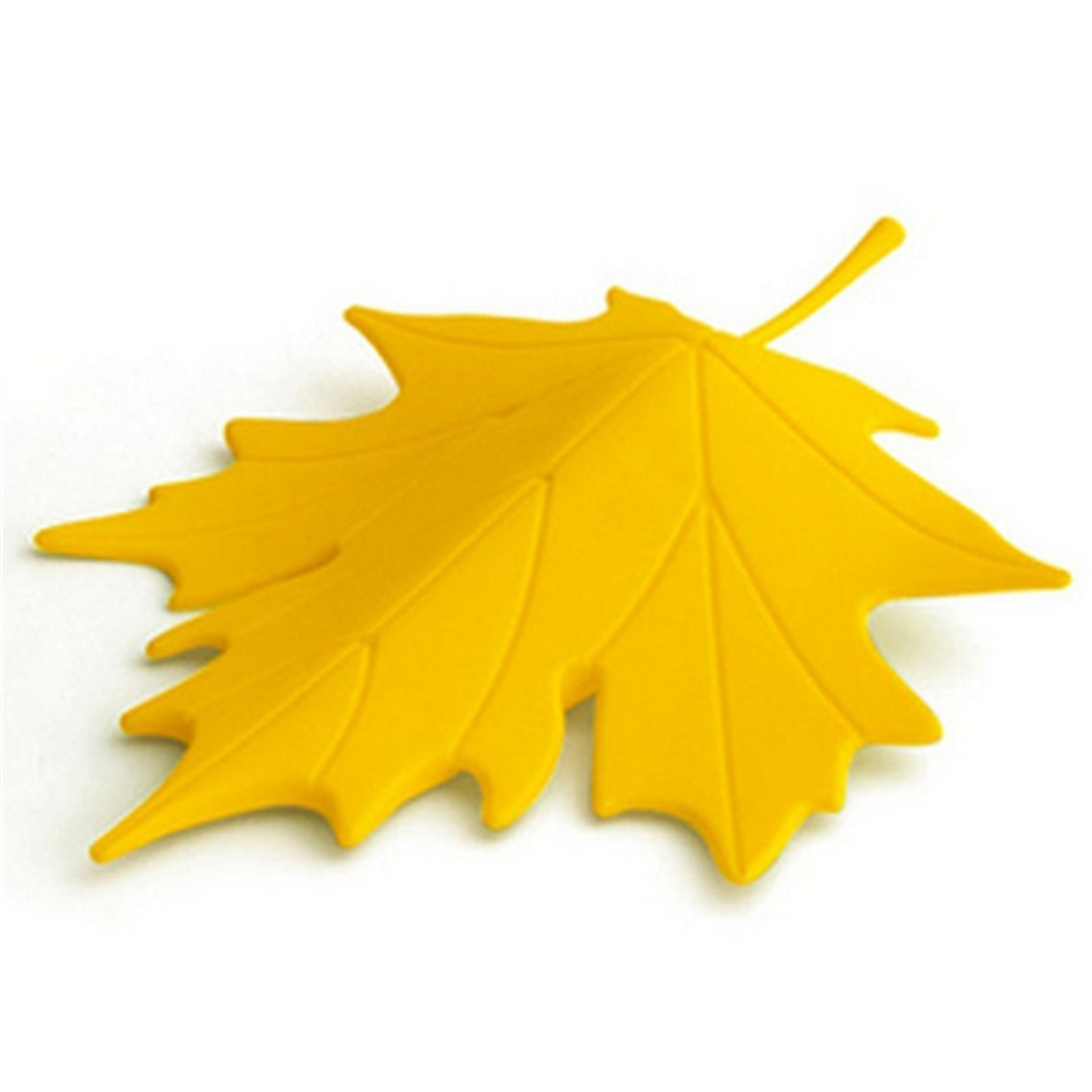 Lalang Home dekorative Autumn Maple Leaf Ornament Tür Stopper Türstopper für Schutz Kid (orange)