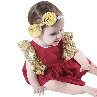 Ropa Bebe Recien Nacido NiñA Vestido Bebe Ceremonia Vestido Bebe ...