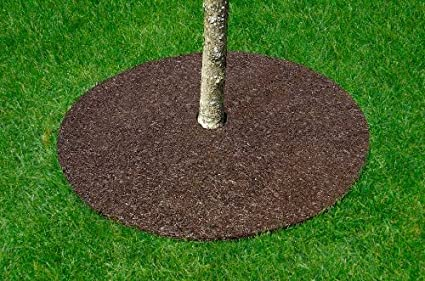 Perma Mulch TR24912-30 24-Inch Red and Brown Tree Ring
