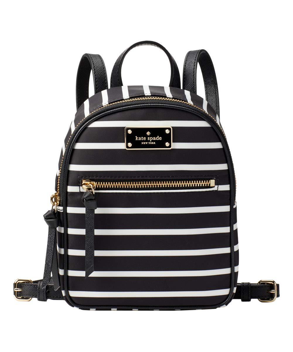 Kate Spade New York Wilson Road Mini Bradley Backpack Purse (Black Multi)