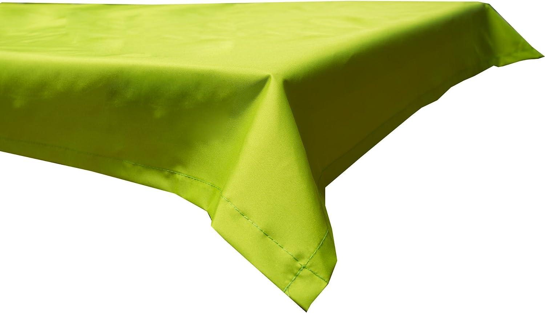 Beo Quadratische Wasserabweisende Tischdecke 100/% Polyester in Sand 76x76cm