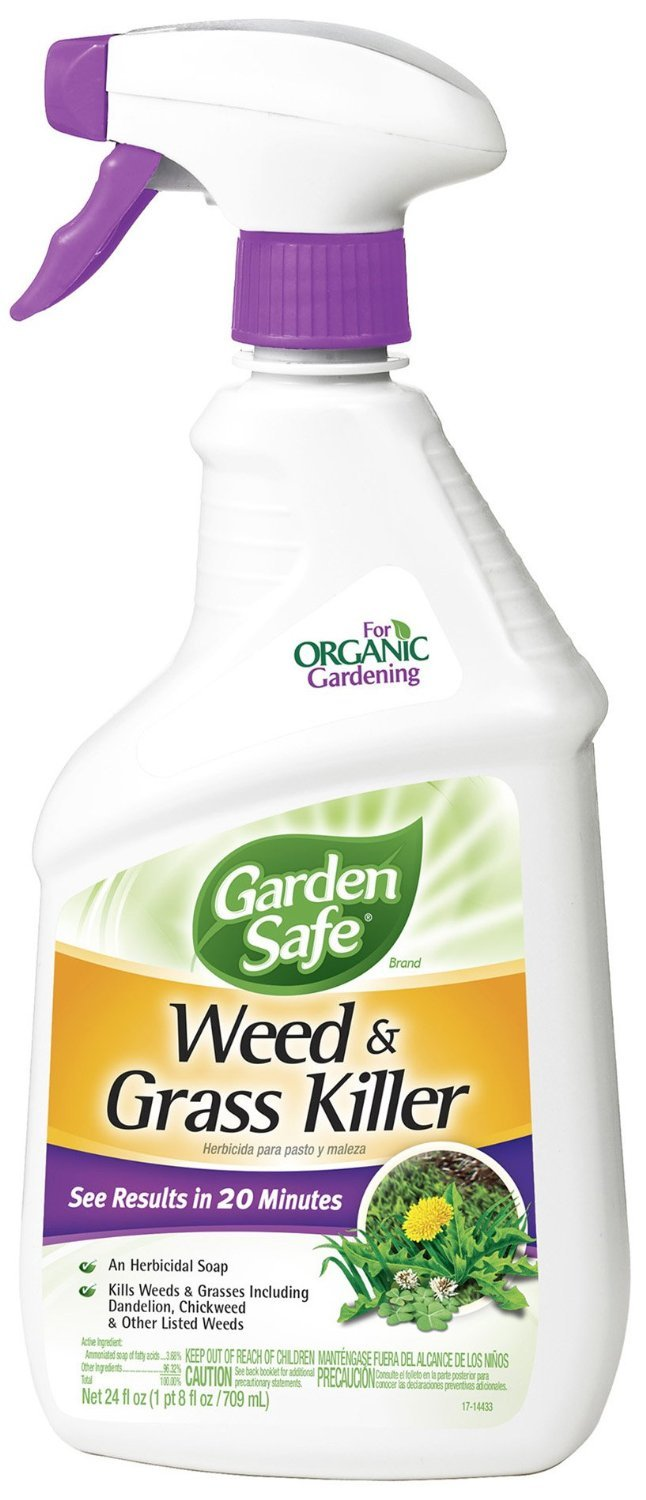 Garden Safe 93065-1 Weed and Grass Killer Spray (6 Pack), 24 oz by Garden Safe (Image #1)