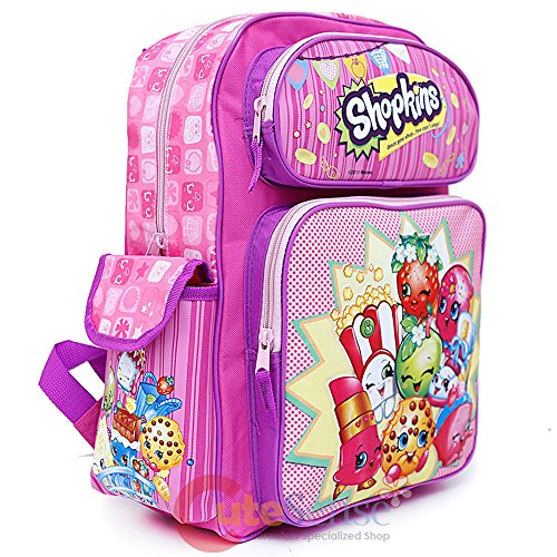 Amazon.com | Shopkins School Backpack Set