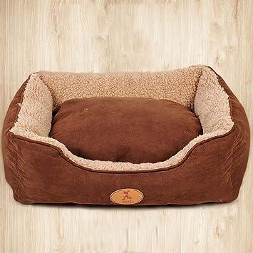 MXD Perrera Mediana Grande Perro casa de Perro Caliente Cama de Animal doméstico Cuatro Estaciones universales (Size : L): Amazon.es: Productos para ...