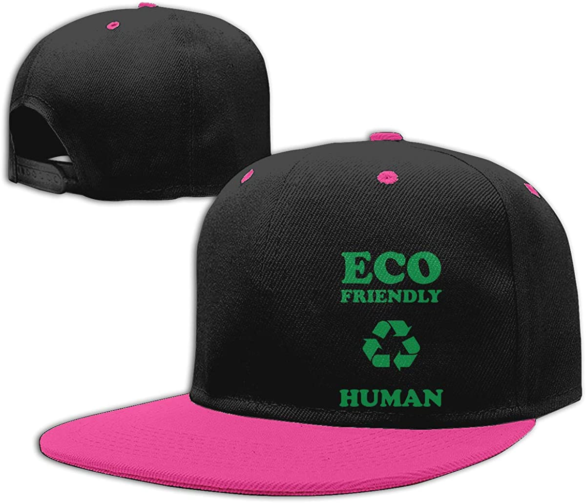 Eco Friendly Human Awareness Fashion Flat Peaked Baseball Caps Men and Women Trucker Cap