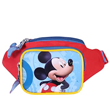 cb70963f11b Waist Pack for Little Boy Mickey Mouse Clubhouse - Bum Bag with Front  Printing of Mickey Mouse - Colored Zip ...