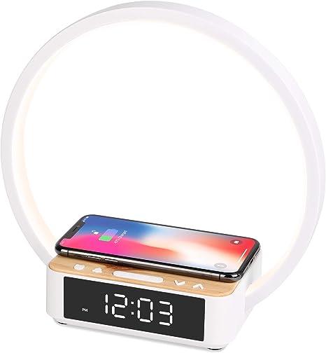 WILIT B17 Wake Up Light Despertador Luz, Lámpara de