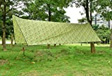 OneTigris Outdoor Hexagonal Camo Sil Tarp Waterproof & Ultralight RipStop Nylon Material 1310ft for Backpacking Hiking Camping (Camo)