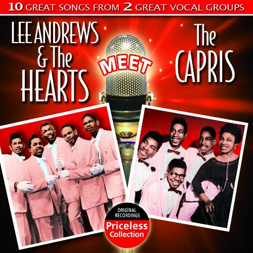 CD : Lee Andrews - Lee Andrews And The Hearts Meet The Capris (CD)