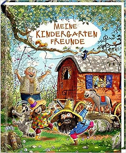 Freundebuch - Räuber Donnerpups - Meine Kindergartenfreunde