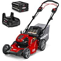 Snapper HD 48V MAX Electric Cordless Self-Propelled Lawnmower Kit with 5.0 Battery & Charger