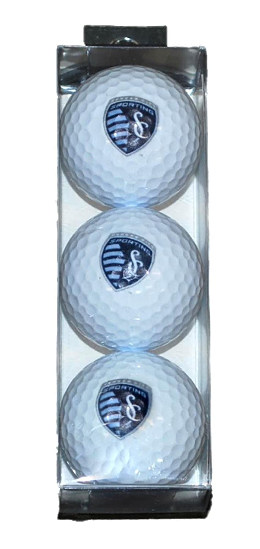 Sporting KC Kansas City WinCraft 3パックスリーブロゴゴルフボール B00KH6AUVQ