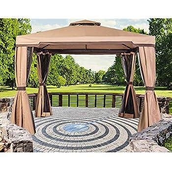 Amazon Com Purple Leaf 10 Feet Steel Frame Outdoor