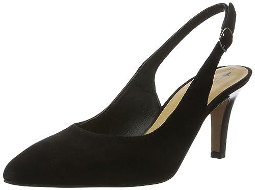 Tamaris Sling Sandalette Schuhe Größe 39 blau Neuwertig Top!