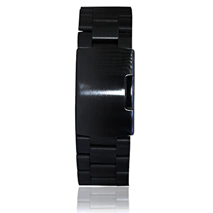 Amazon.com: gooq® Acero inoxidable Pulsera Metal Watchband ...