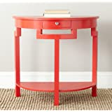 Safavieh American Home Collection Liana Hot Red Console Table