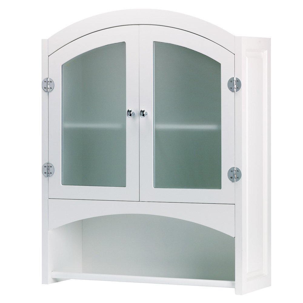 Smart Living Koehler 35013 30.5 Inch White Bathroom Wall Cabinet SS-KHD-35013