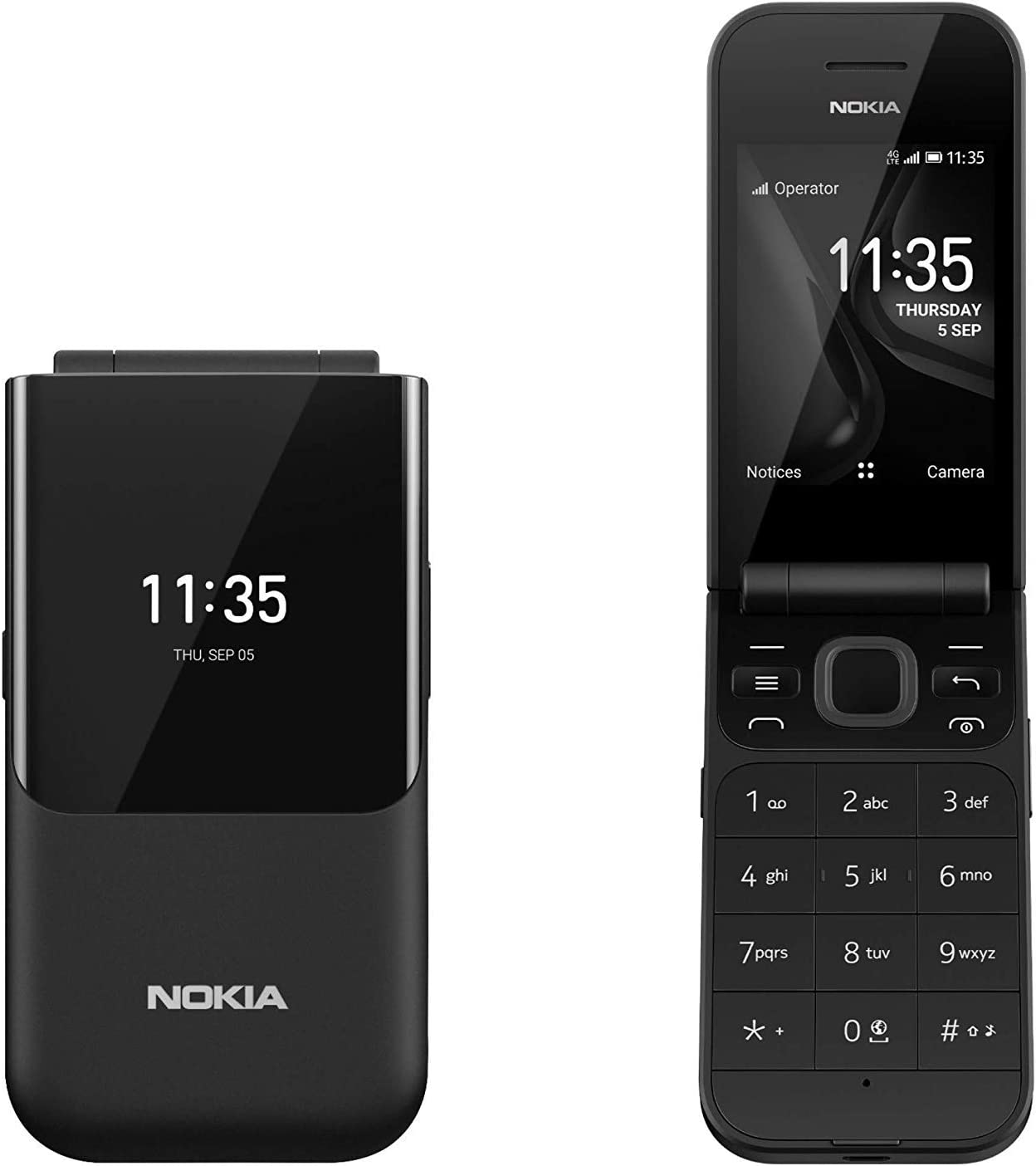 Nokia 2720 Fold Teléfono Móvil (Bluetooth, cámara de 1,3 Mpx ...