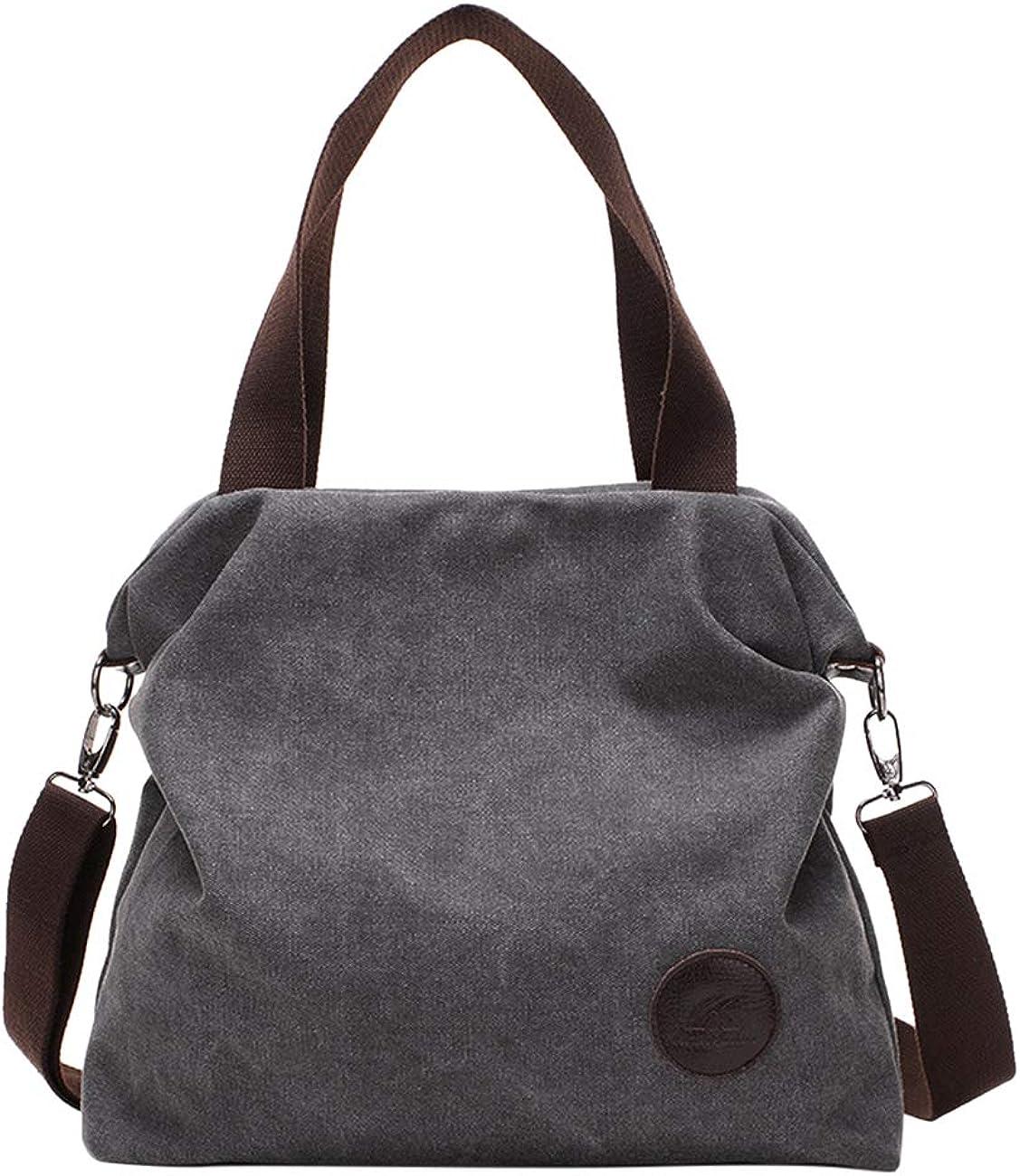 Canvas Tote Bag Laptop Lightweight Shoulder Bag Handbags Messenger Bag Zhhlinyuan