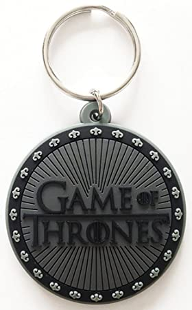 Game Of Thrones - Logo - Goma Llavero - Tamaño Aprox. 4,5 x ...