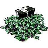 The Ginger People Gin Gins Original Chewy Ginger Candy, 3 lb Bag in a BlackTie Box