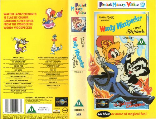 Woody Woodpecker and His Friends [VHS]