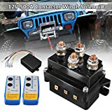TR.OD 12V 500A HD Contactor Winch Control Solenoid Relay Twin Wireless Remote Recovery (12V 500A)