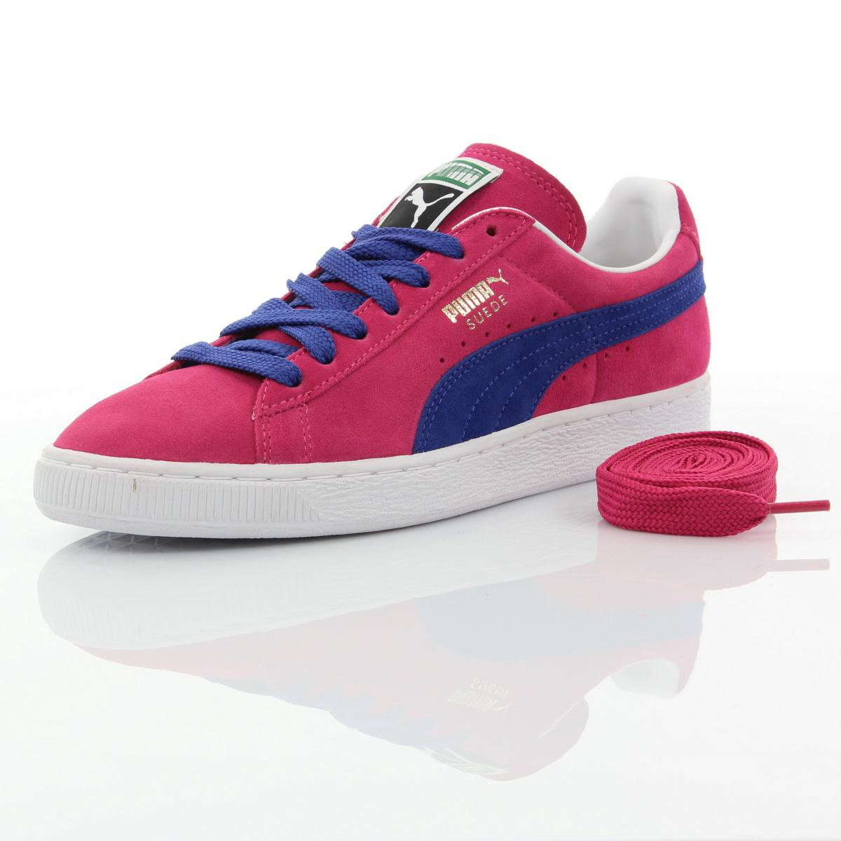 a19bab9da836 Puma Suede Classic Purple Blue White Gold  Amazon.co.uk  Shoes   Bags