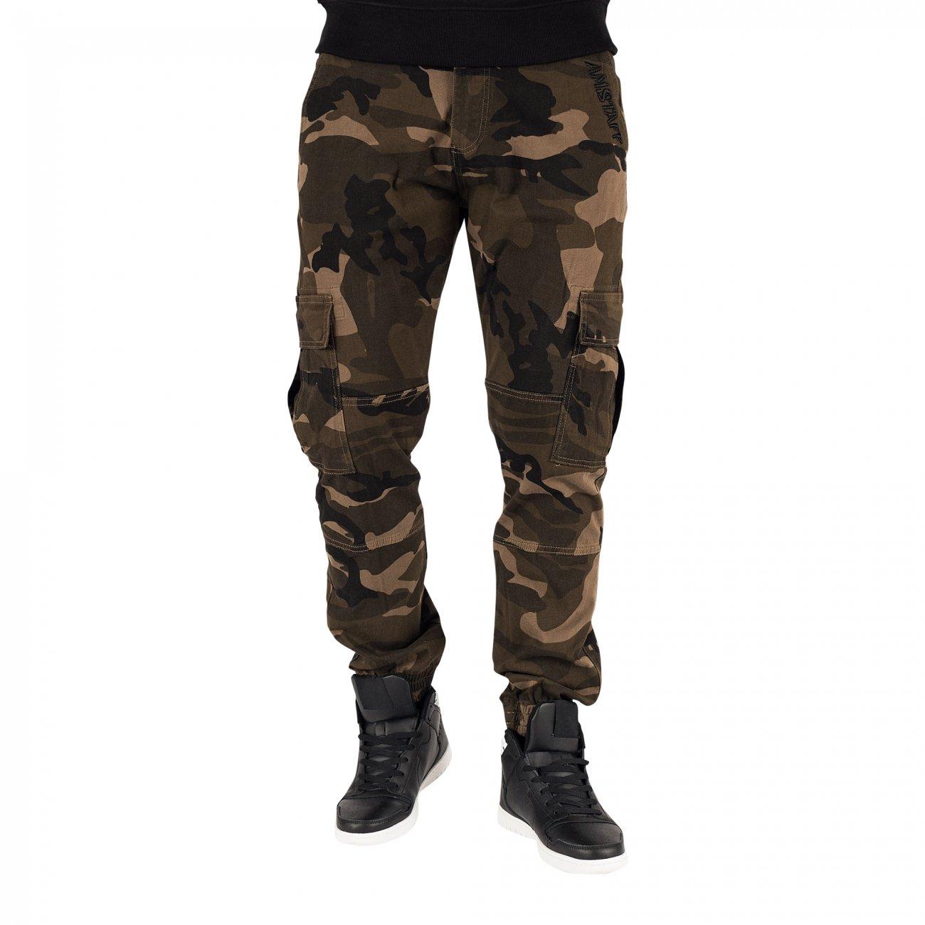 Amstaff Sarge Cargopants Camouflage Antifit Herren Jeans W30 W32 W34 W36 W38