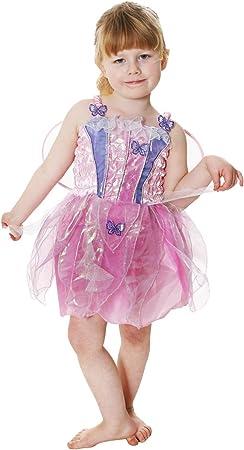 Butterfly - Disfraz de hada mariposa para niña, talla 3 años (U24 ...