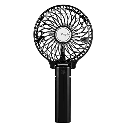 fan electric. easyacc handheld fan mini portable outdoor electric with rechargeable lg 2600mah battery adjustable 3 speeds e