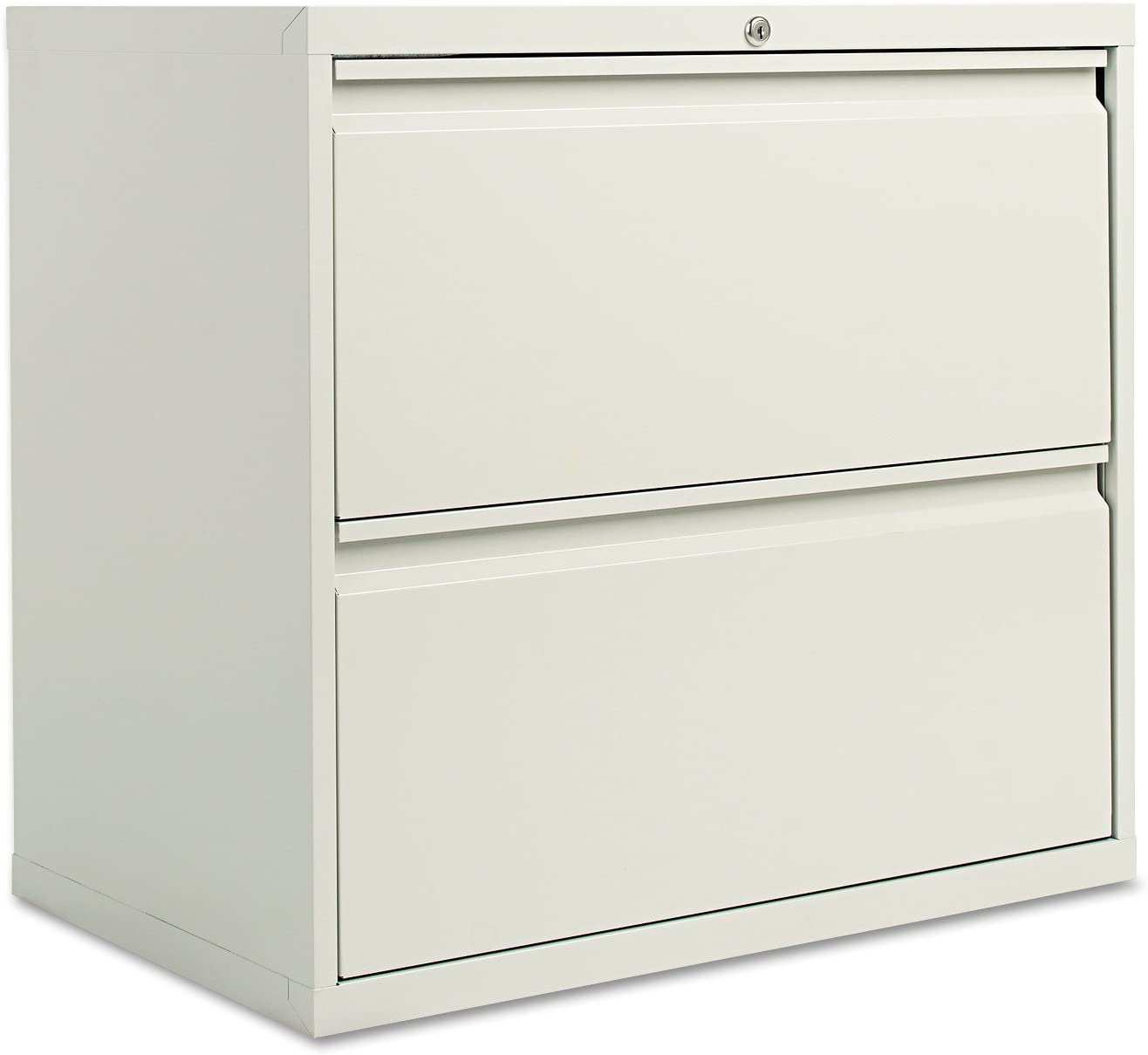 Alera 30 by 19-1/4 by 29-Inch 2-Drawer Lateral File Cabinet, Light Gray