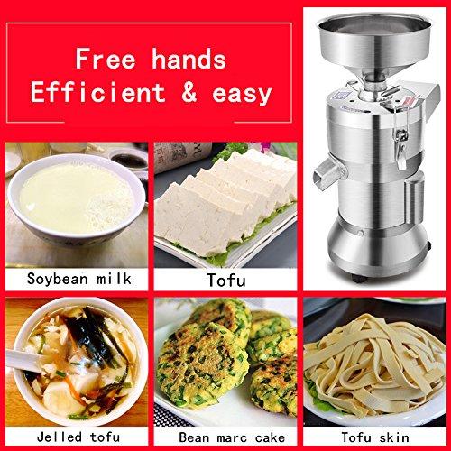CGOLDENWALL Máquina de pulir para Molinillo de 220 V para Hacer Tofu, de Acero Inoxidable DE 15 kg/35 kg: Amazon.es: Hogar