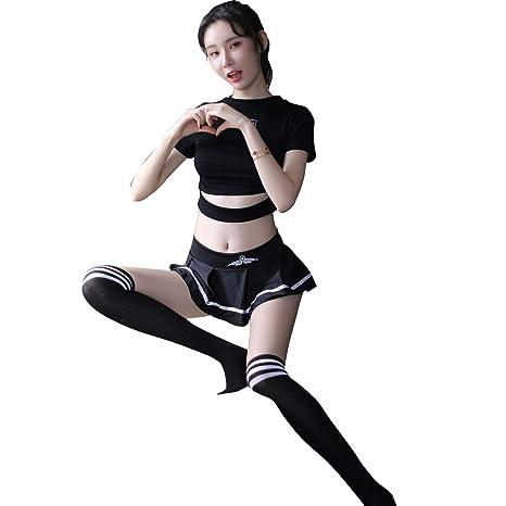 Amazon.com: YINUOQI - Conjunto de uniforme de policía sexy ...