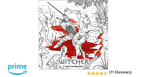 The Witcher Adult Coloring Book: Amazon.es: CD Projekt Red ...